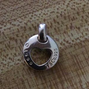 Tiffany & Co. Sterling Silver Vintage Heart Charm